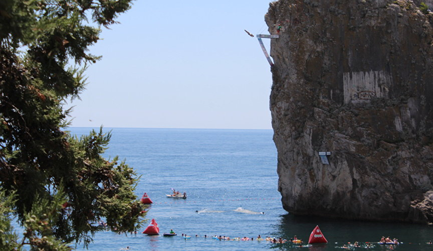 Crimea Cliff Diving World Cup