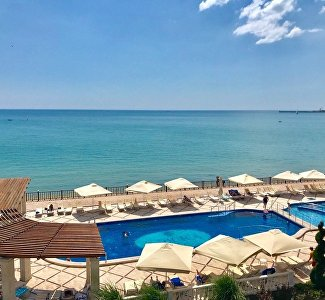 Пляж комплекса Ribera Resort & SPA
