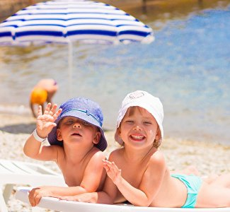 Пляж отеля Golden Family Resort